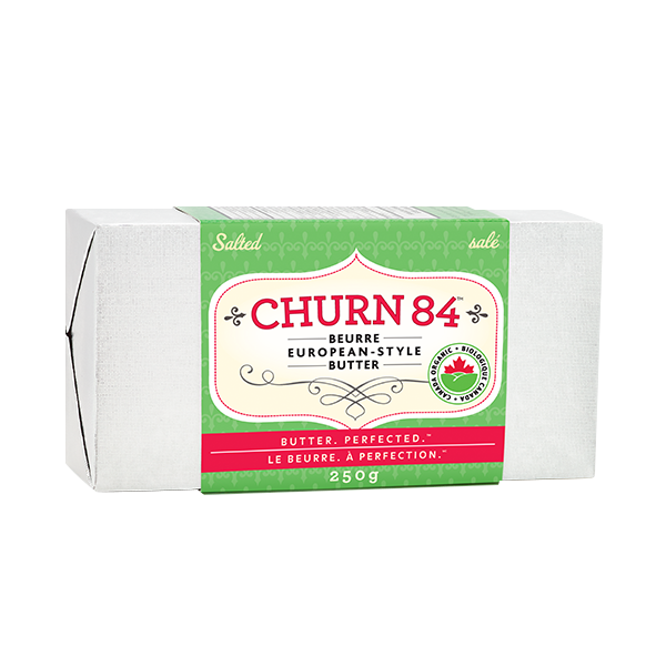 Photo of - Beurre Churn84 biologique salé 250 g