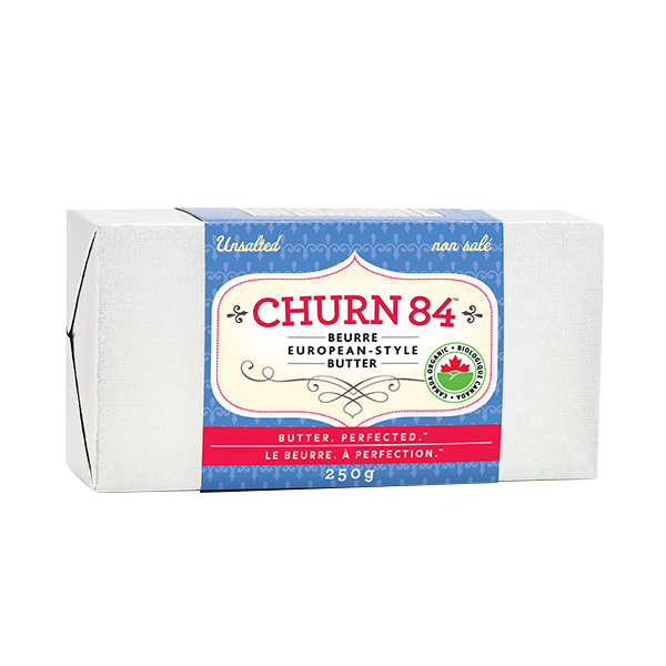 Photo of - Churn84 Organic Unsalted 250g