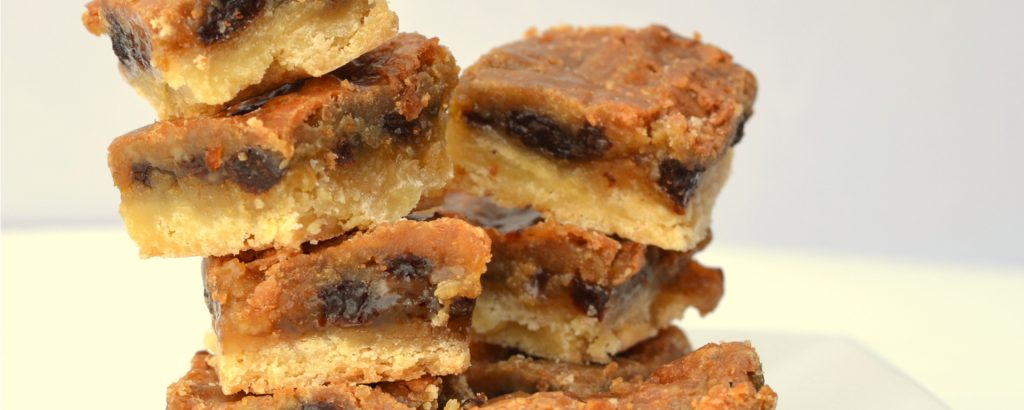 Photo of - Butter Tart Shortbread Bars