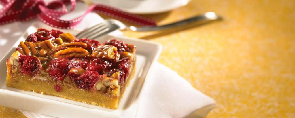 Photo for - Cranberry Caramel Shortbread