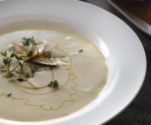 Photo of - Creamy Roasted Garlic Soup
