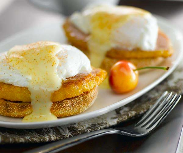 Photo of - Eggs Benedict with Classic Hollandaise Sauce