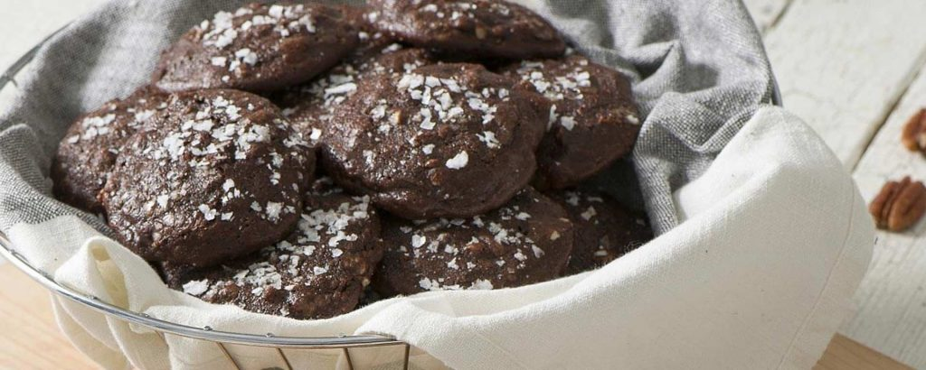 Photo for - Gluten-Free Chocolate Pecan Cottage Cheese Cookies