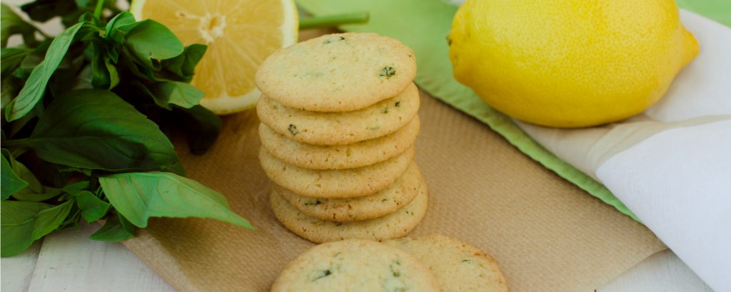 Photo for - Lemon Basil Shortbread Cookies