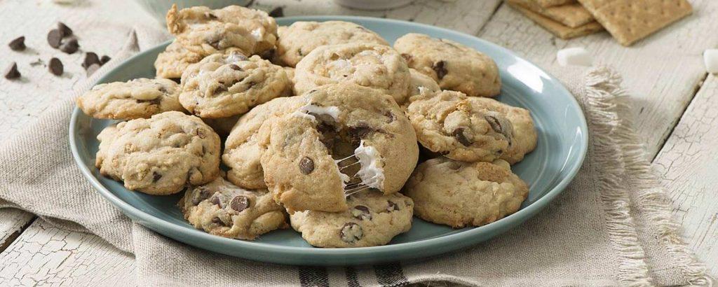 Photo for - Ooey Gooey S'mores Cookies