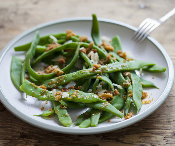 Photo of - Haricots verts sautés au beurre