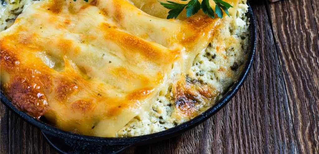 Photo for - Two-Mushroom Cheese Manicotti