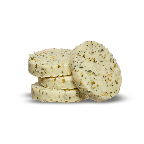 Photo of - Stirling Creamery Flavoured Medallions – Garlic & Parsley
