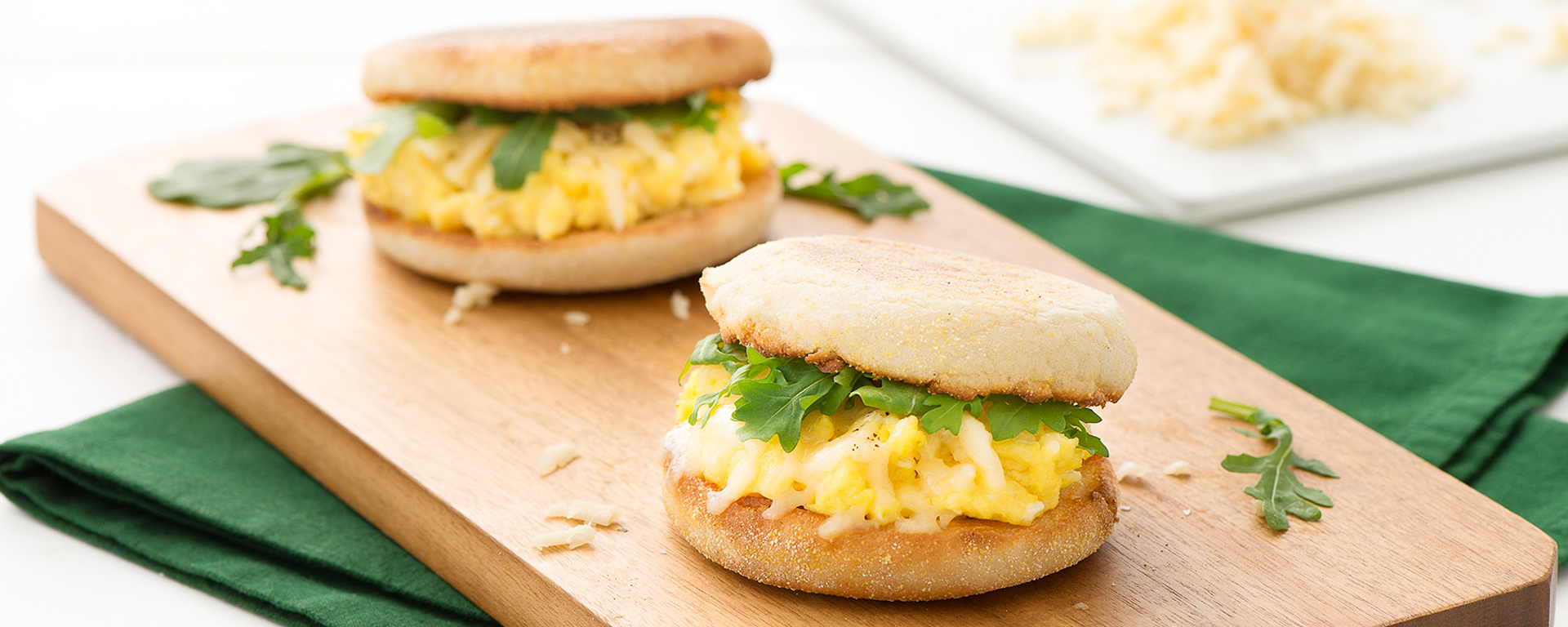 Photo of - Maple Cheddar Breakfast Sandwich